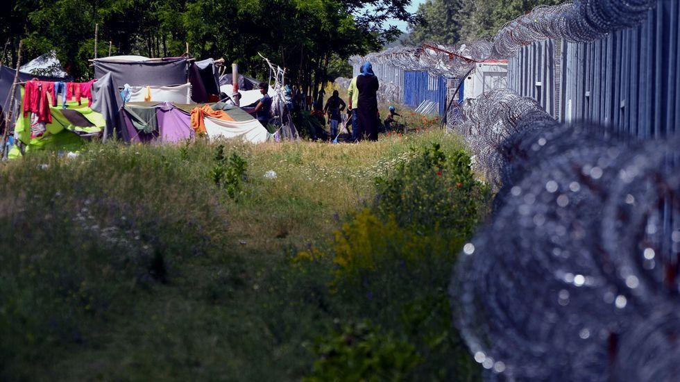 El 20 Encuentro de Fotoperiodismo «Ciudad de Gijón» hace sitio a los refugiados.Campamento de Idomeni