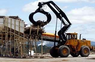 Aeroportos.Biomasa Forestal contó con ayudas de Industria para su implantación en As Pontes.