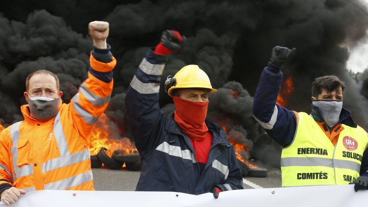 Vídeo de Alcoa.El comité de Alcoa espera que Gobierno y Xunta cumpla sus palabras
