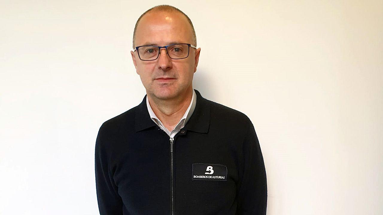 La memoria de los pinos.Oscar Rodríguez, gerente del Servicio de Emergencias del Principado (Sepa)