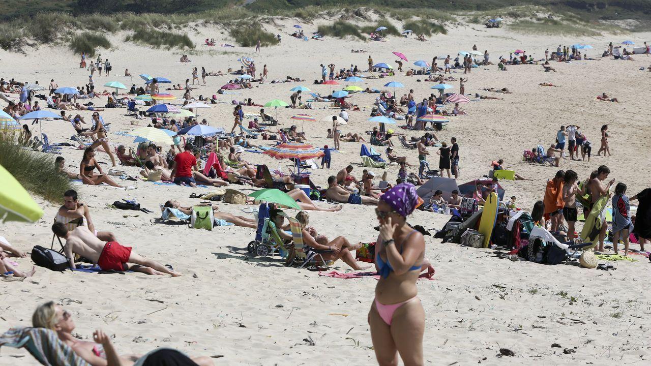 La playa de A Graña, en Ferrol, figura entre las que obtienen la calificación de buena