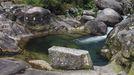 Vista de una de las piscinas naturales del río Pedras