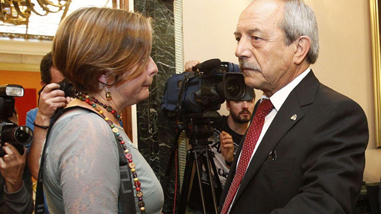 El presidente de Otea, José Luis Álvarez Almeida.Ana Taboada y Wenceslao López. ARCHIVO
