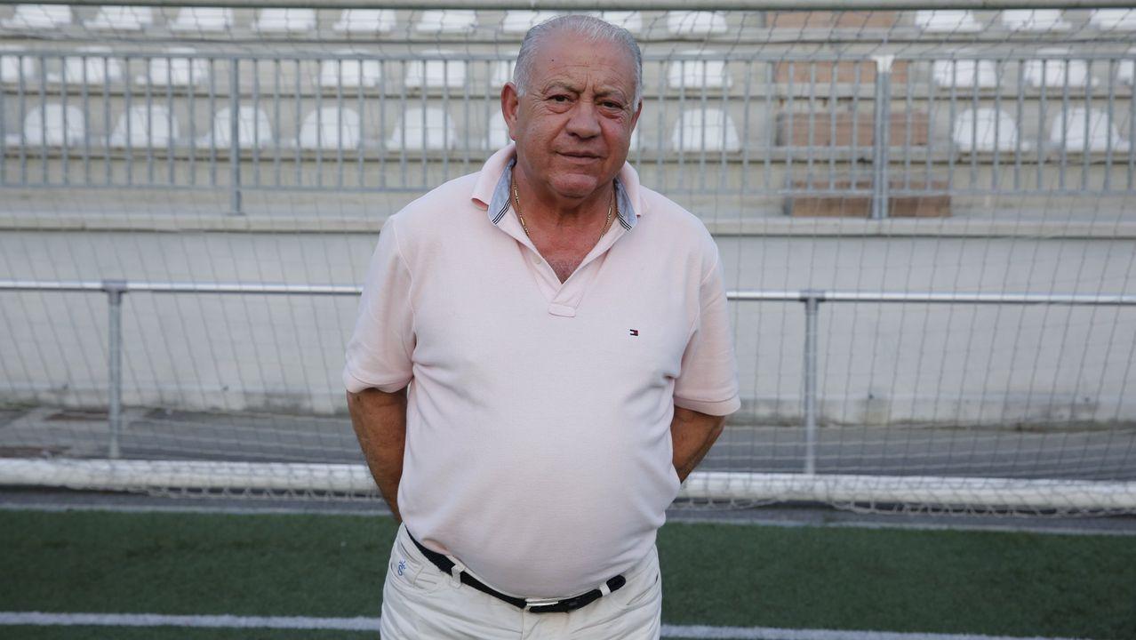 El Vilalonga, en un partido contra el Ribadumia la pasada temporada.