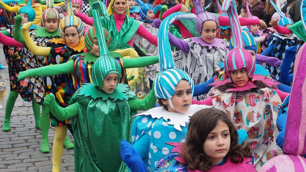 Desfile de Carnaval en Padrón