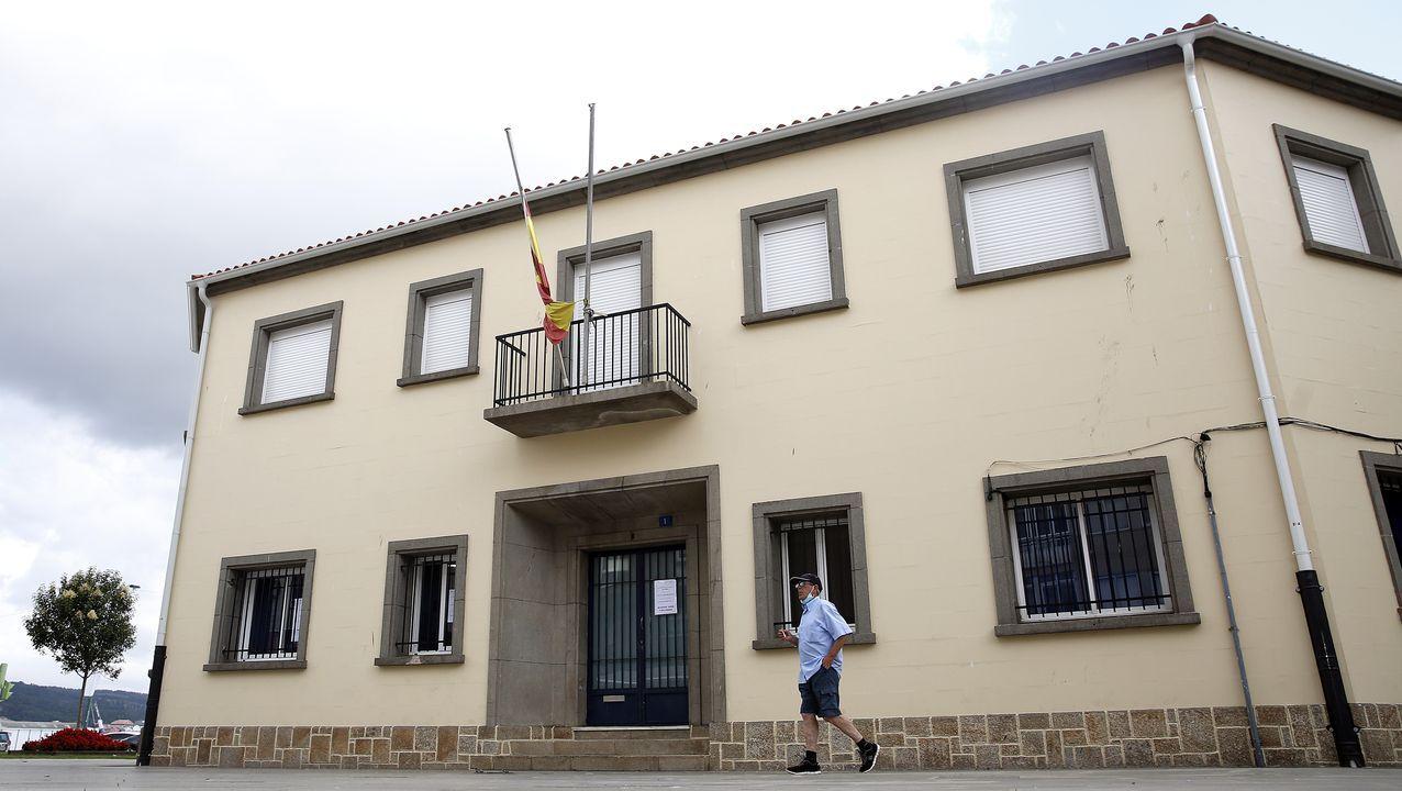 Edificio de Capitanía Marítima en Ribeira