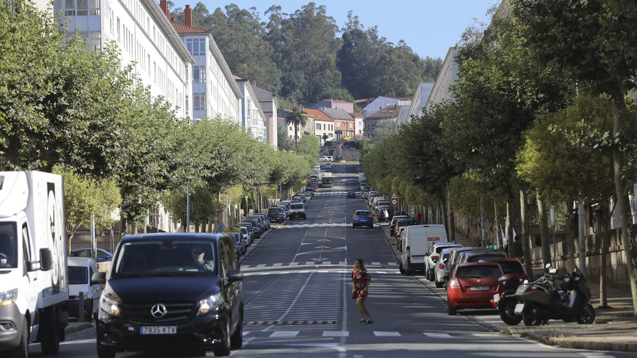 Los barrenderos toman la calle en Santiago