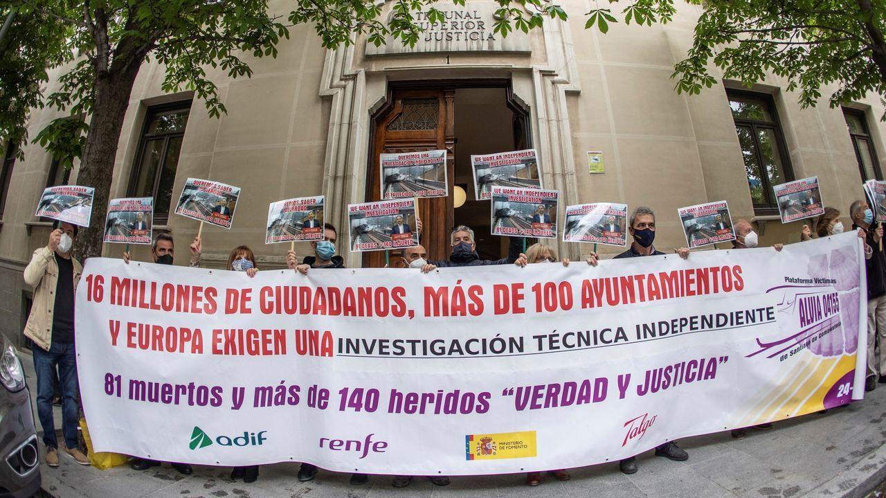 Anfaco entrega su Medalla de Oro a la Consellería de Sanidade.Las víctimas, ante el Tribunal Superior de Justicia de Madrid