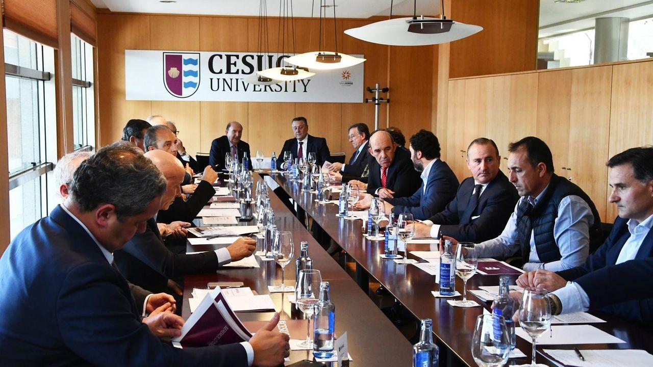 Miembros del consejo asesor de Cesuga, en imagen de archivo