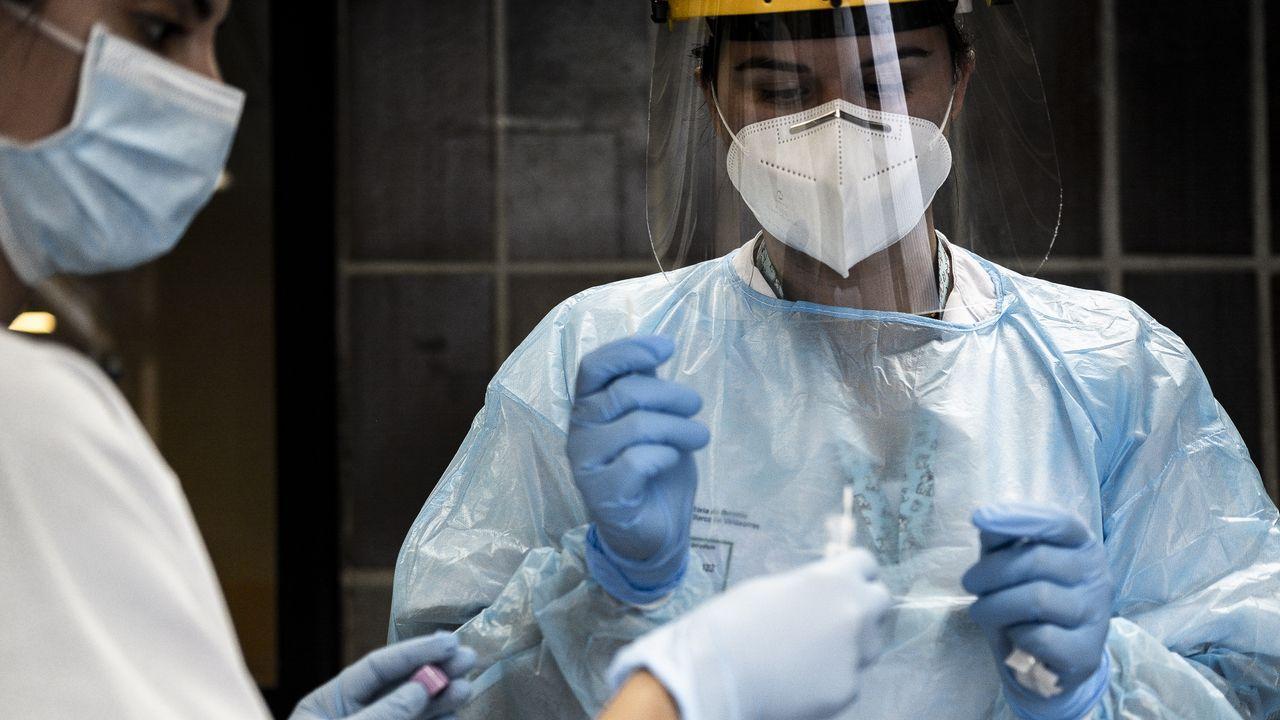 En los centros educativos de la provincia de Ourense hay 157 casos activos de coronavirus