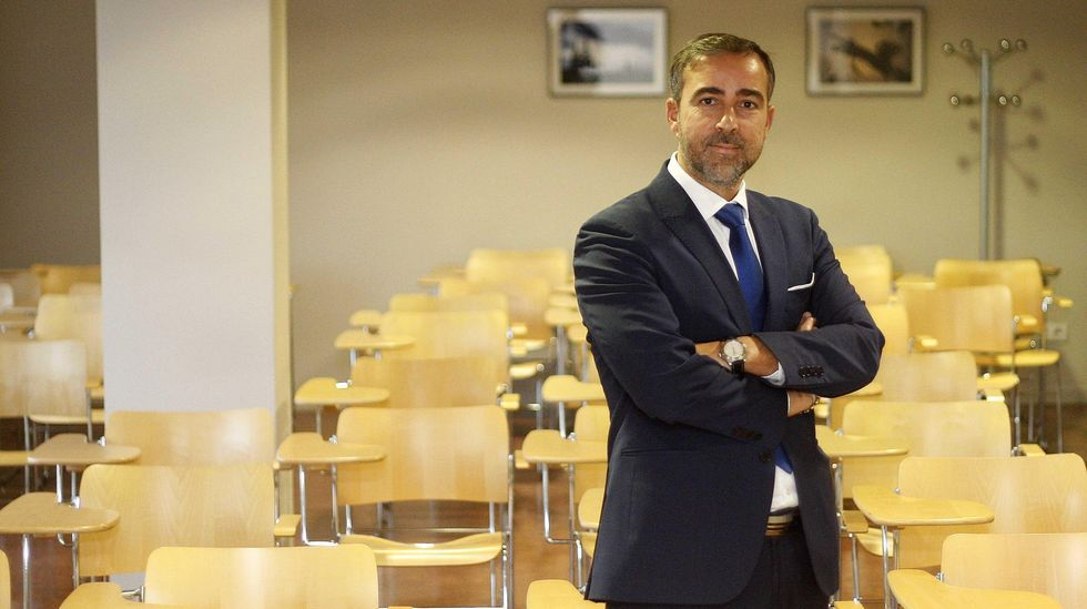 El empresario Diego Vázquez