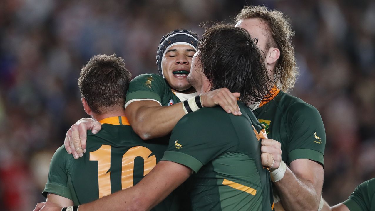 Campeonato del Mundo de Rugby. Sudáfrica, vencedora