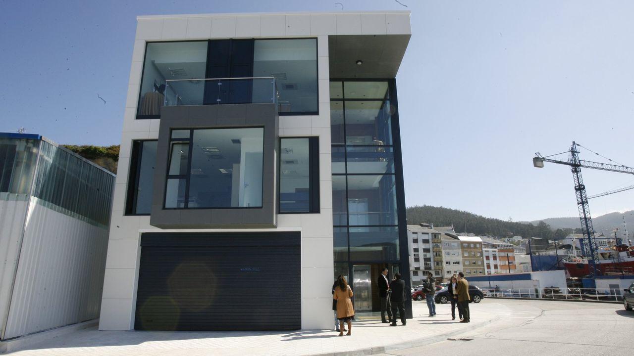 La sede de Portos en Celeiro, en una foto de archivo