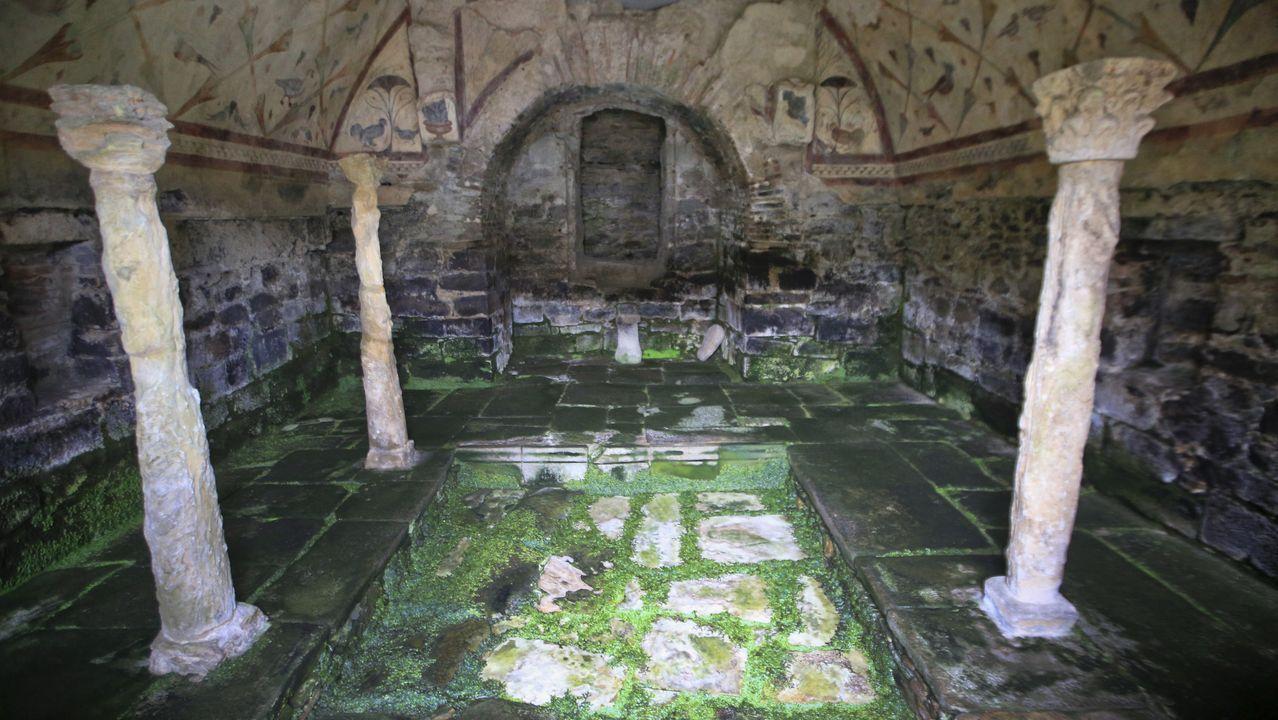 Opciones para el fin de semana:Santa Eulalia de Bóveda y los lagos de Teixeiro.Nicandro Ares, no 2013