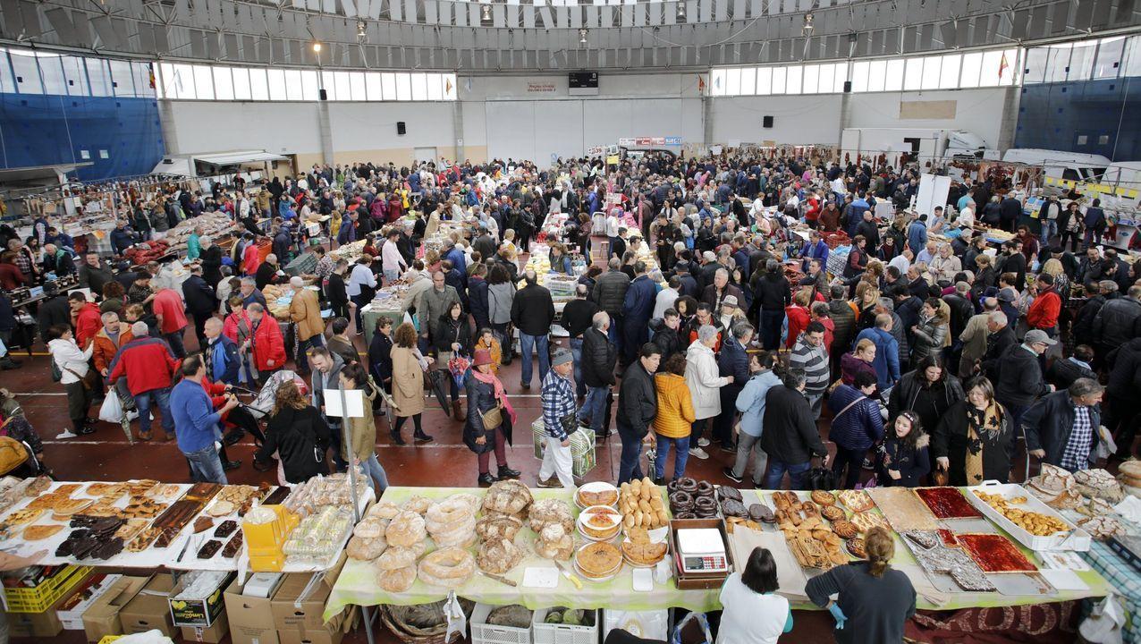 Feira de Santos en Monterroso no 2019