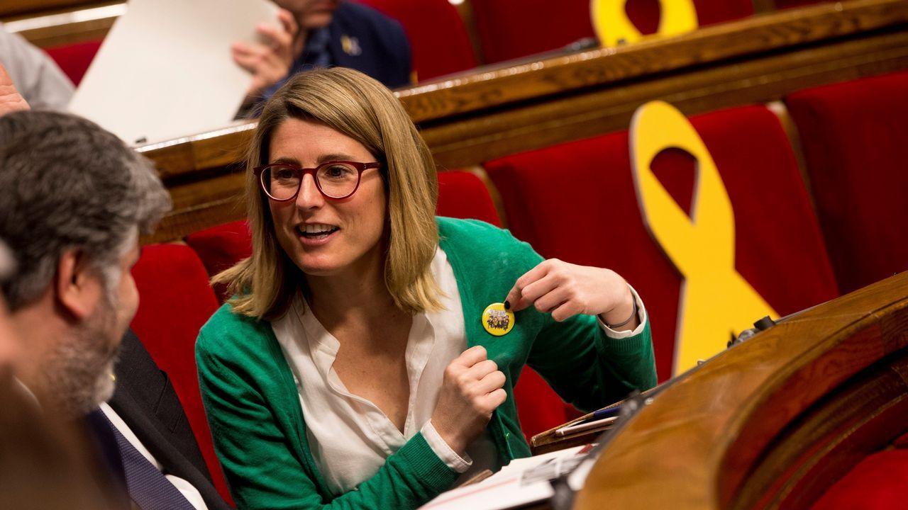 Después del apoyo de ERC y Jordi Sánchez, ayer fueron Òmnium y PDECat quienes avalaron a Elsa Artadi