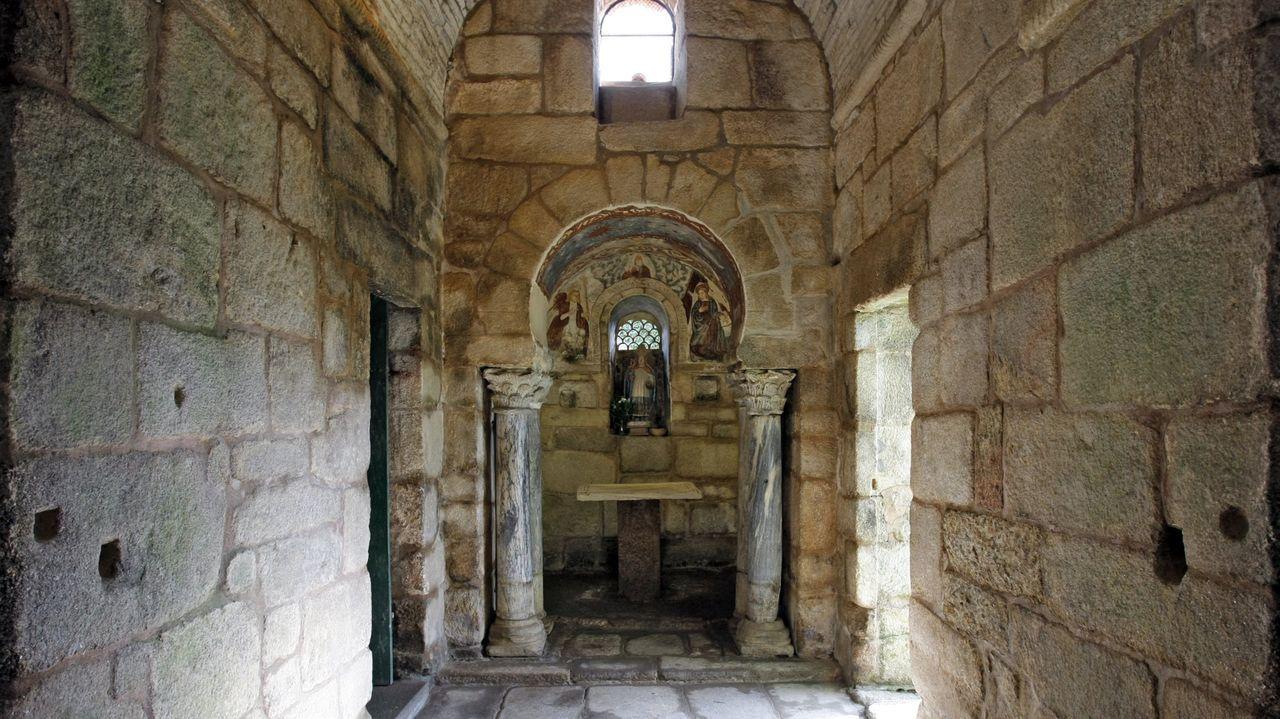 Iglesia de Santa Comba de Bande, la más antigua de Galicia