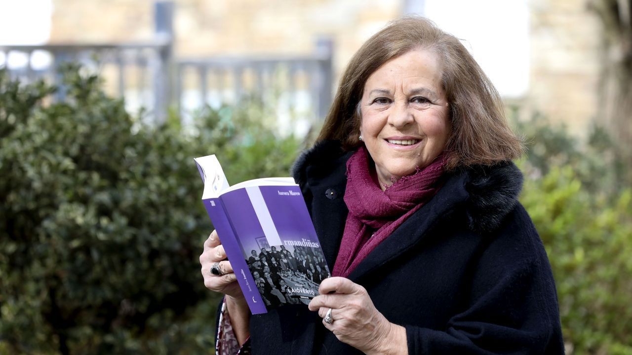 Aurora Marco, autora do ensaio «Irmandiñas», que vén de publicar Laiovento