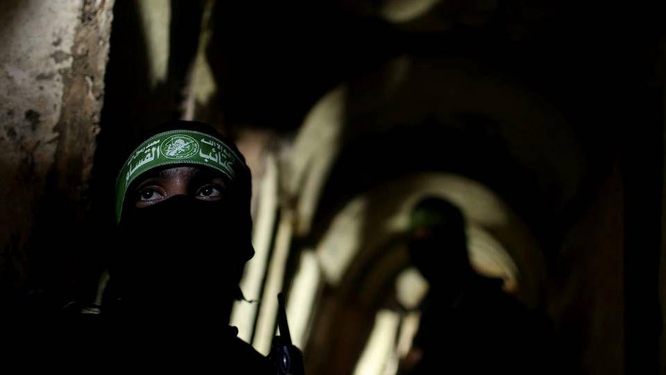 En el interior de los túneles de Gaza