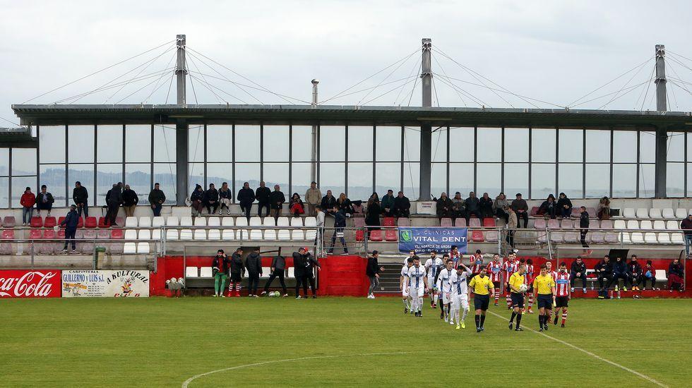 Las imágenes del partido entre el Céltiga y elBarco