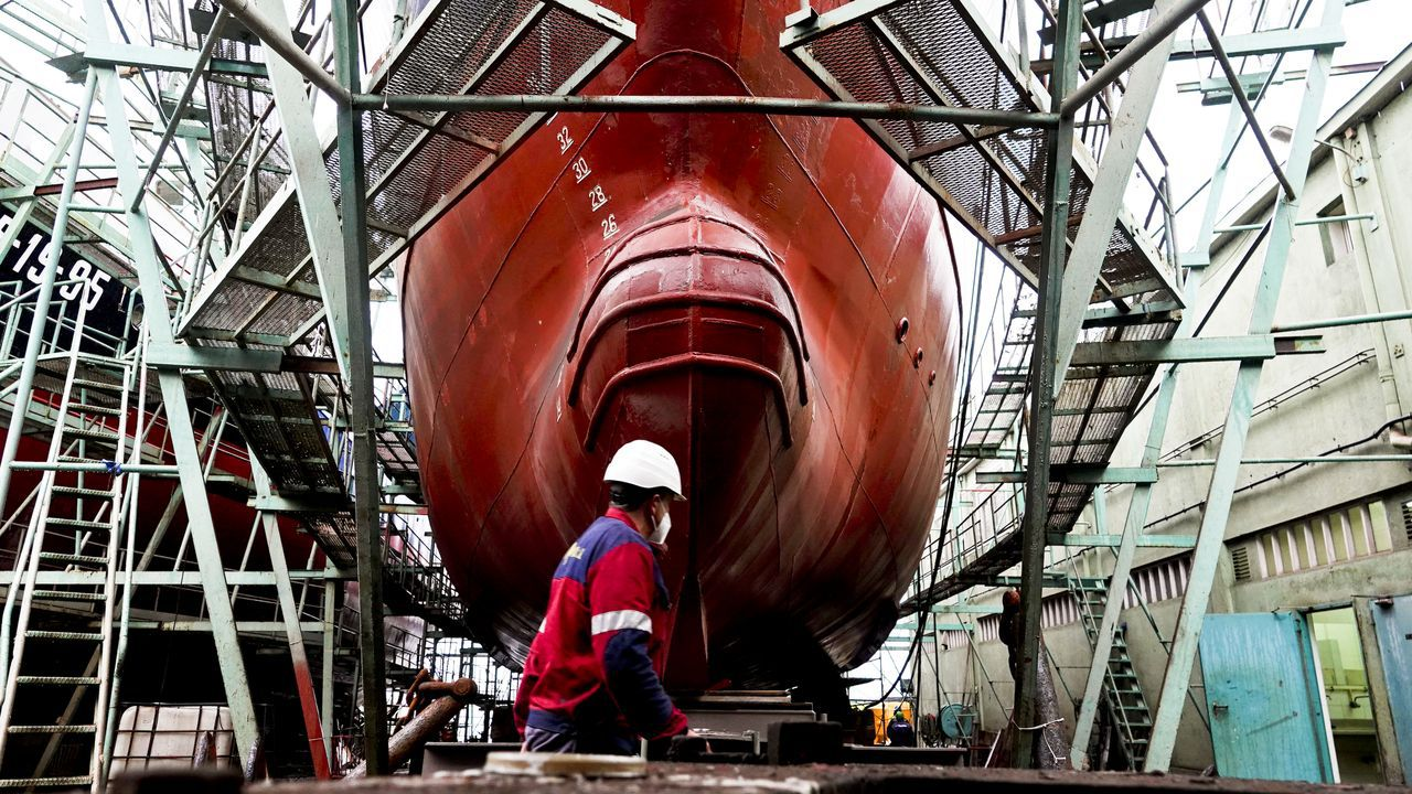 El megayate de lujo Wayfinder, construido por Astilleros Armón Burela, es uno de los paradigmas del nuevo sector naval en A Mariña