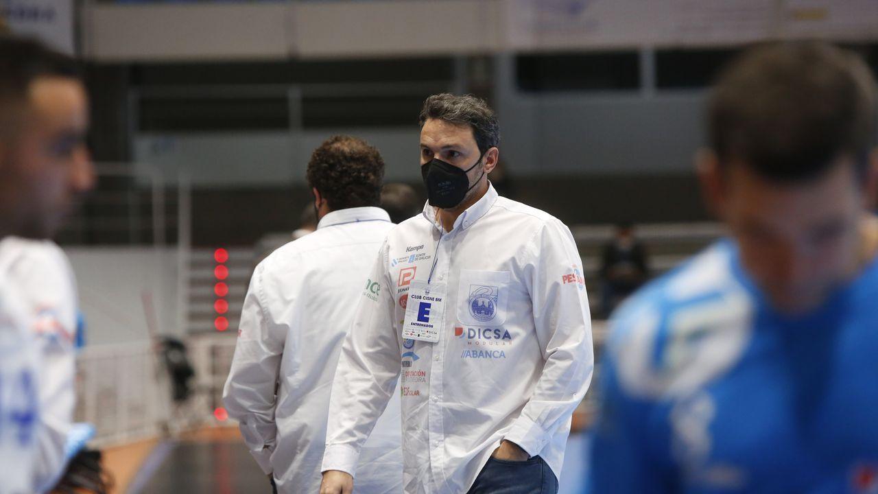 Álvaro preciado y Carlos Álvarez, dos de los seleccionados, en una imagen de archivo