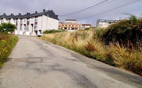 Imagen de archivo de la carretera de Viana do Bolo a San Agustín