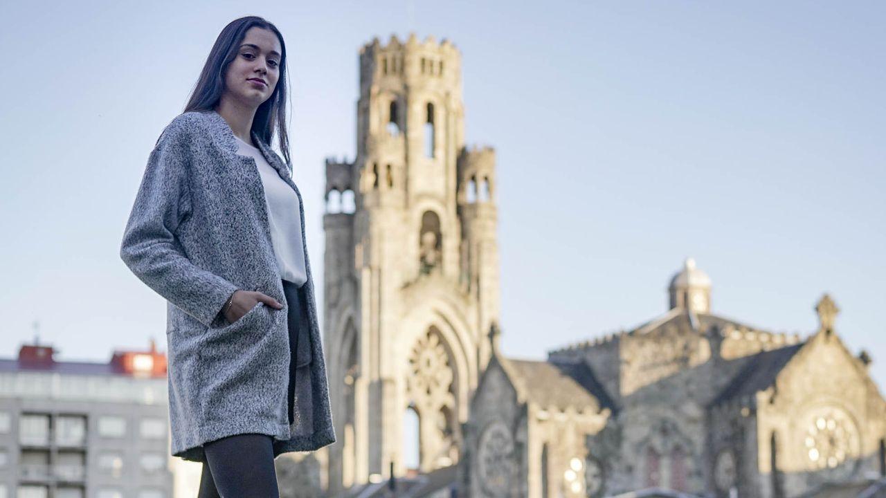 El mundo, entre la reapertura, las protestas y el desinfectante.Lucía Lamas es la candida a Miss World Spain en representación de la provincia de Ourense