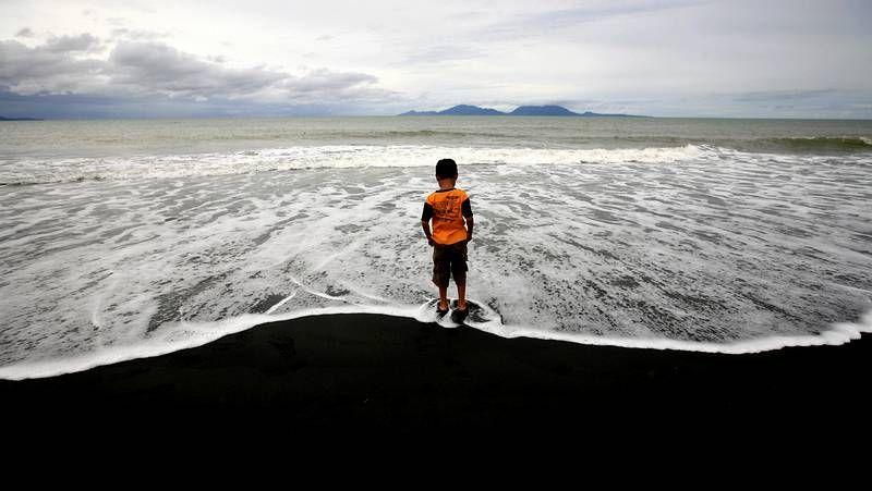Recuerdo a las miles de víctimas del tsunami.David Rochela, en una imagen reciente en Tailandia, adonde llegó después de jugar en Tel Aviv.