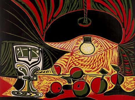 Mary Anning Google Doodle.«Naturaleza muerta bajo la lámpara», uno de los dos linóleos de Picasso adquiridos por el Museo Británico.