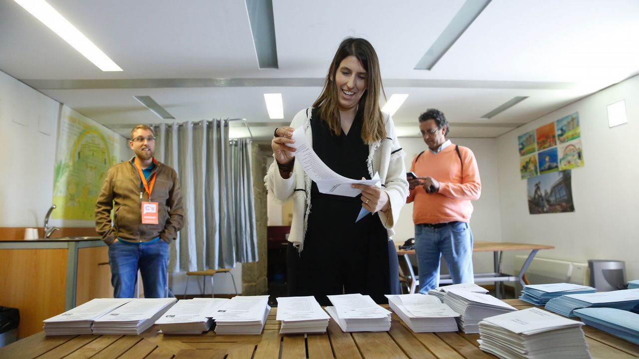 María Vilas, candidata a la alcaldía de Santiago por Ciudadanos