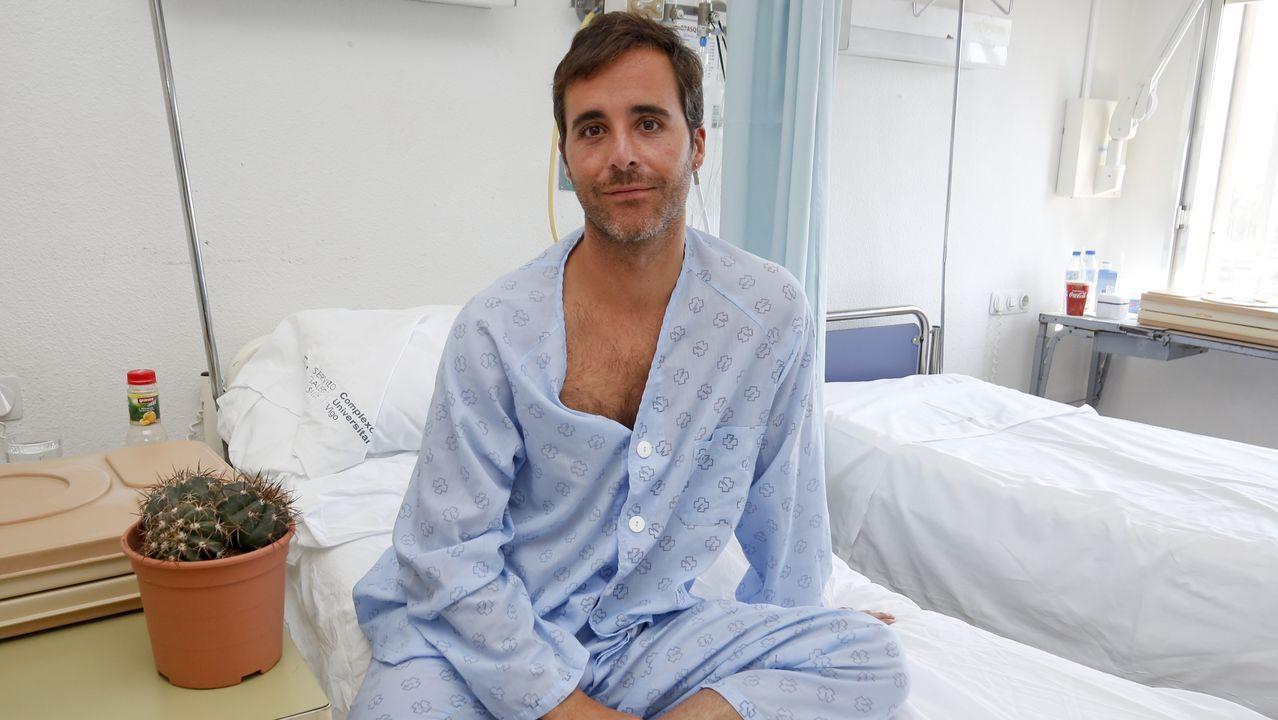 A Pablo, casi sin pulso, le tuvieron que inyectar varias dosis de adrenalina
