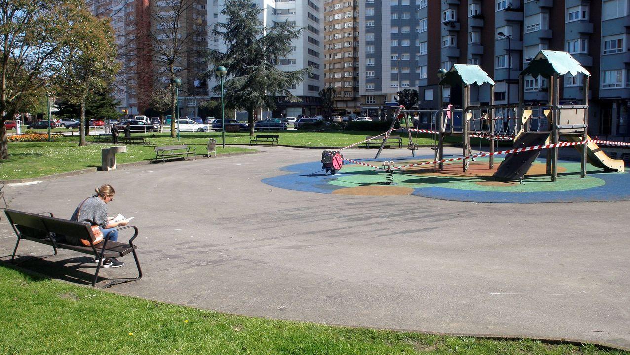 PUERTA LA VILLA GIJON.Parque en Gijón