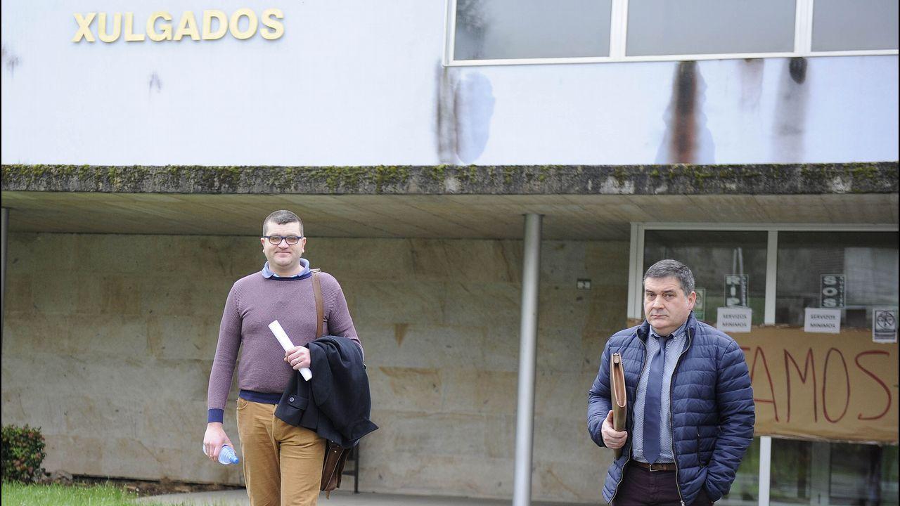 Rodrigo Rato, a su llegada a la Audiencia Nacional