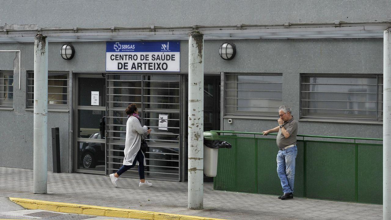 autobus.Centro de salud y PAC de Arteixo