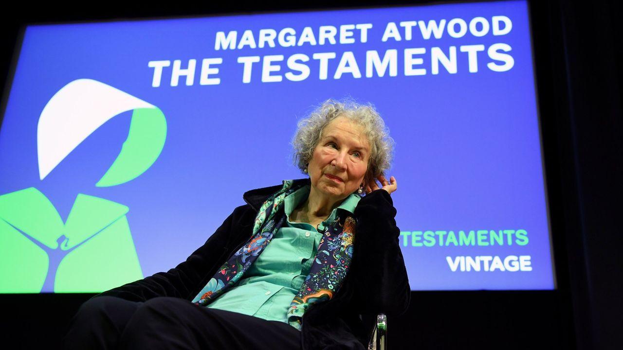 El primer ministro de Etiopía, Abiy Ahmed, premio Nobel de la Paz.Margaret Atwood