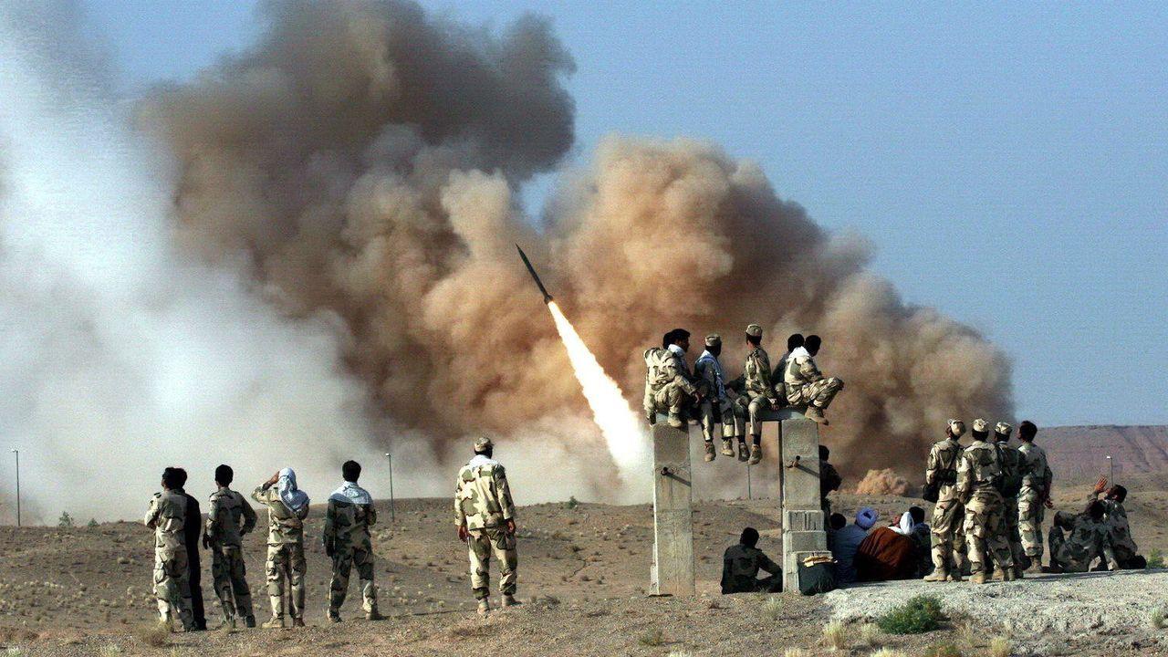 Misiles balísticos lanzados por Irán