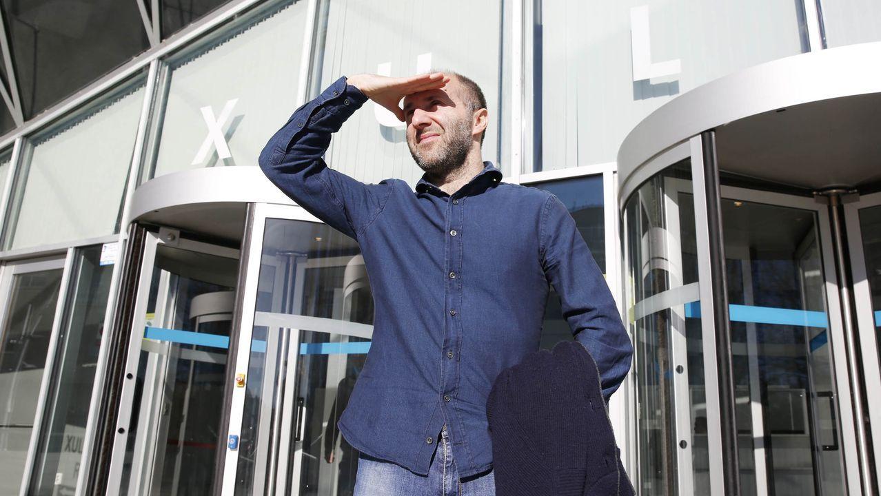 Gonzalo Pérez Jácome, a la salida de un juicio, en una imagen de archivo
