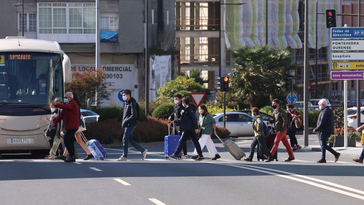 Estudiantes en Santiago