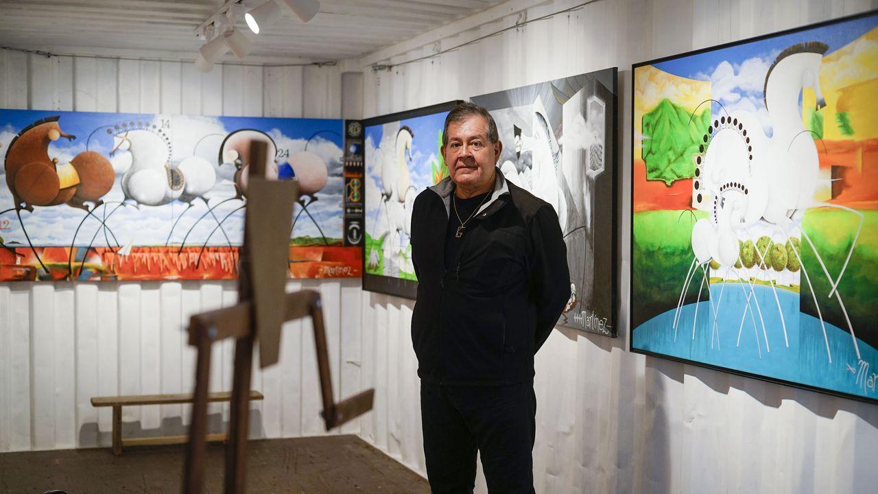 Marco Martínez inaugura exposición en Mur Marxinal