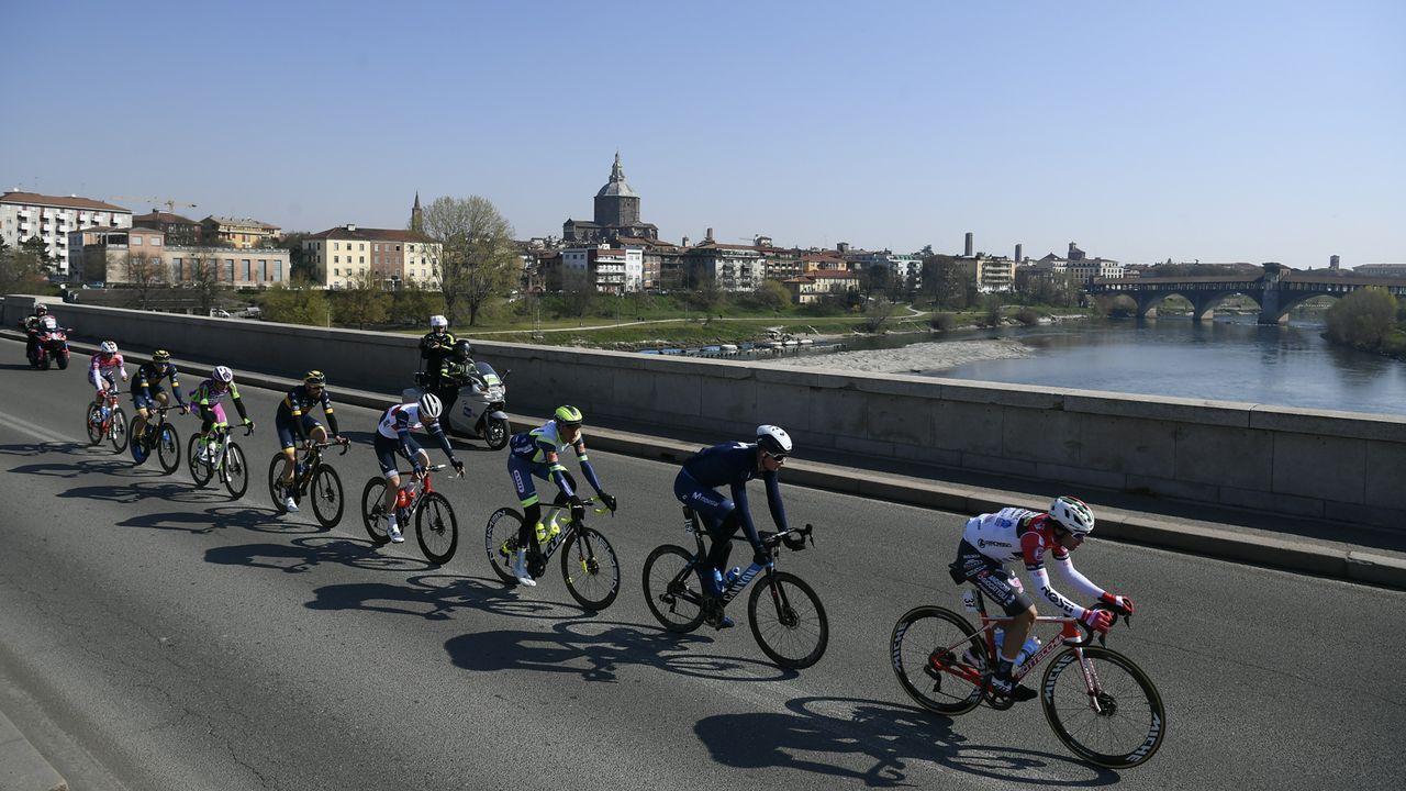 Presentación de las etapas gallegas de La Vuelta 2021.La ordenanza también establece nuevas normas para los ciclistas