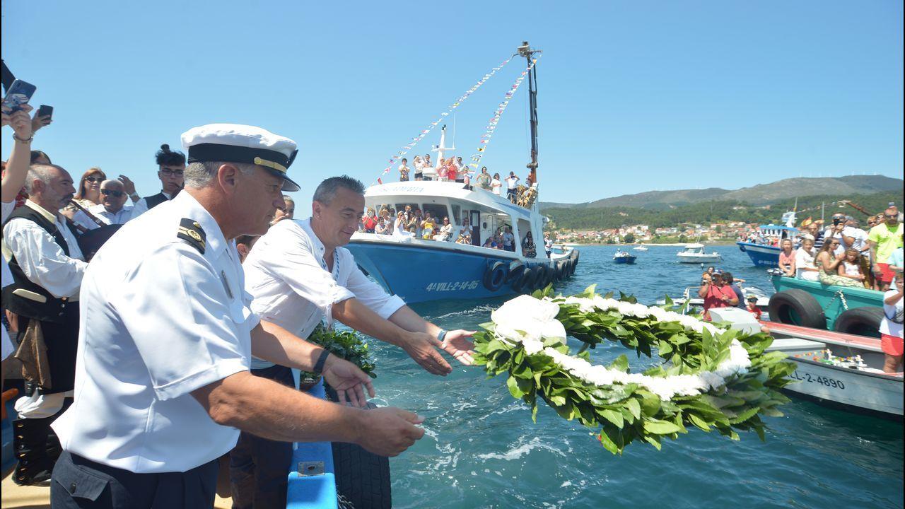 Procesión marítima del Carmen en Escarabote 2019