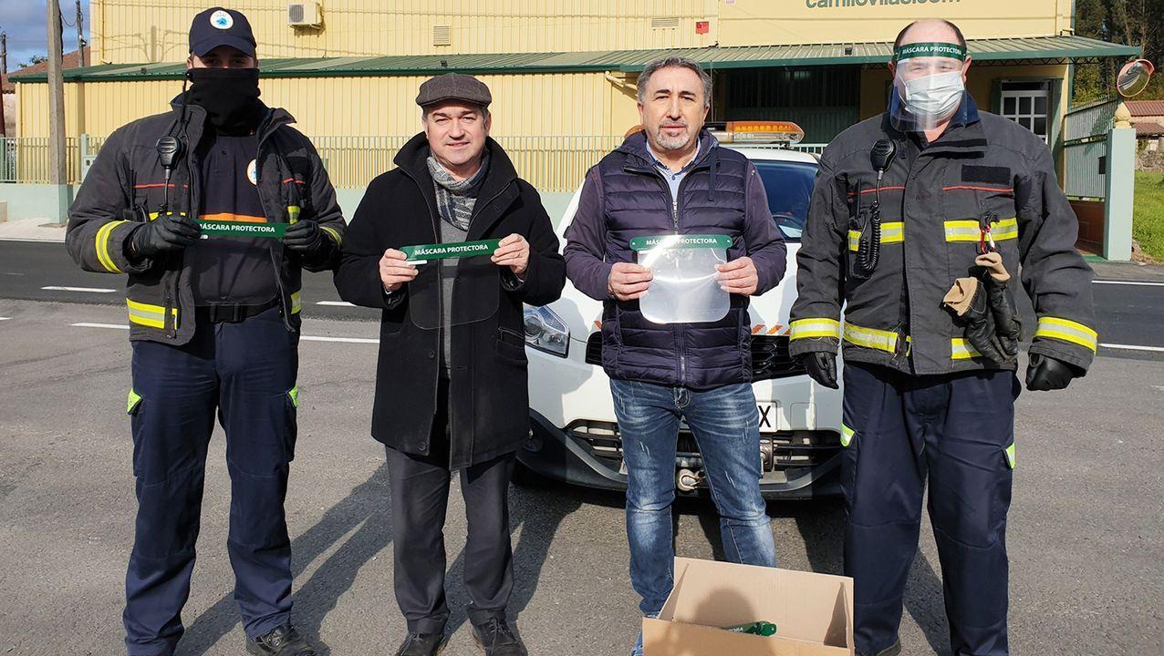 Los vecinos de Cerceda y de a Silva se animan el confinamiento.Reunión telemática de la Diputación de Ourense