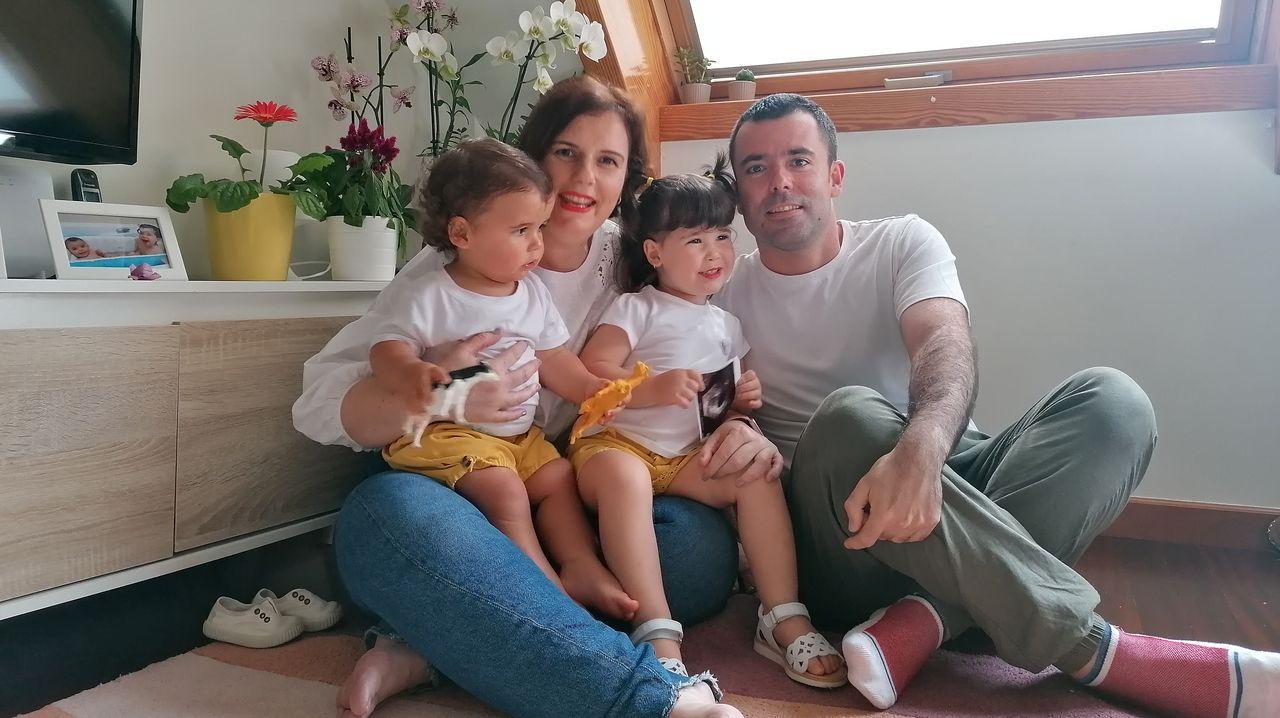 Los cinco espacios que se podrán visitar.Trabajadores sanitarios del Hospital Montecelo, de Pontevedra, en un acto del pasado abril durante la pandemia