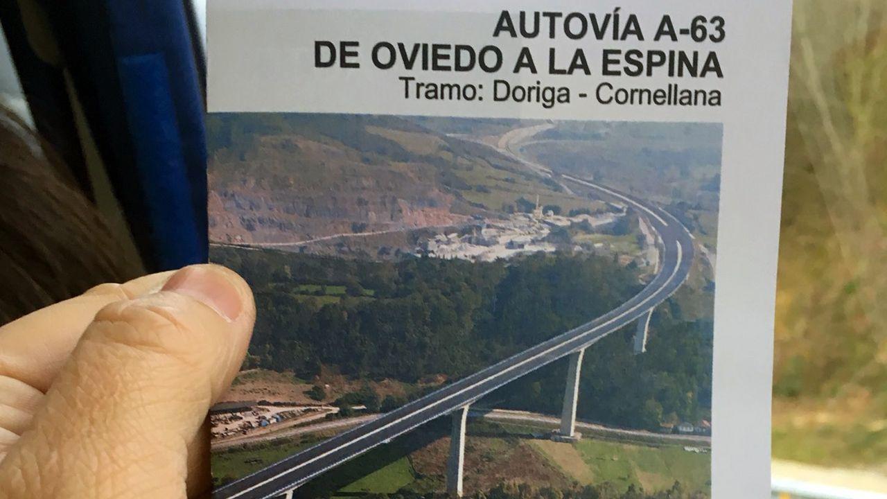 El Ministerio de Fomento inaugura el tramo Doriga-Cornellana, de la autovía de La Espina.El Ministerio de Fomento inaugura el tramo Doriga-Cornellana, de la autovía de La Espina
