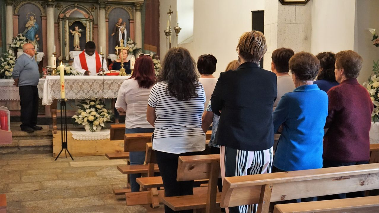 Ayer comenzó la novena de San Adrián de Verdes