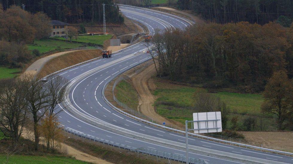 Peajes en la autopista AP-9