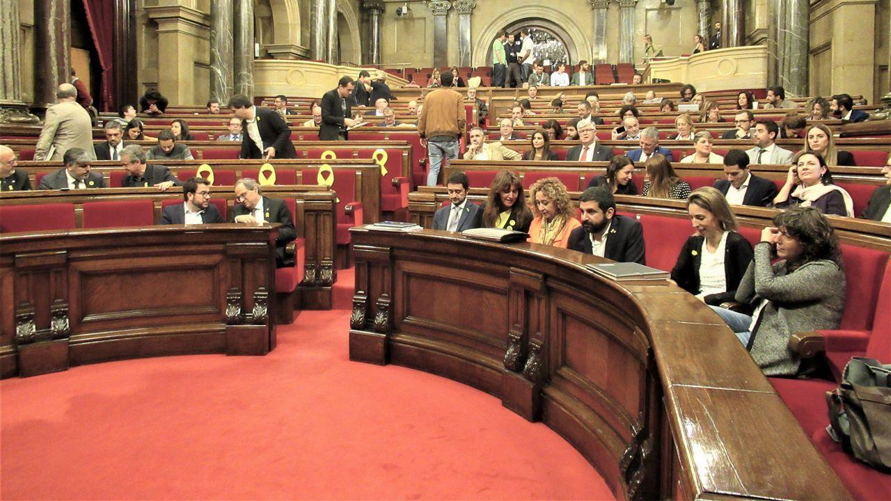 Imagen del Parlamento catalán