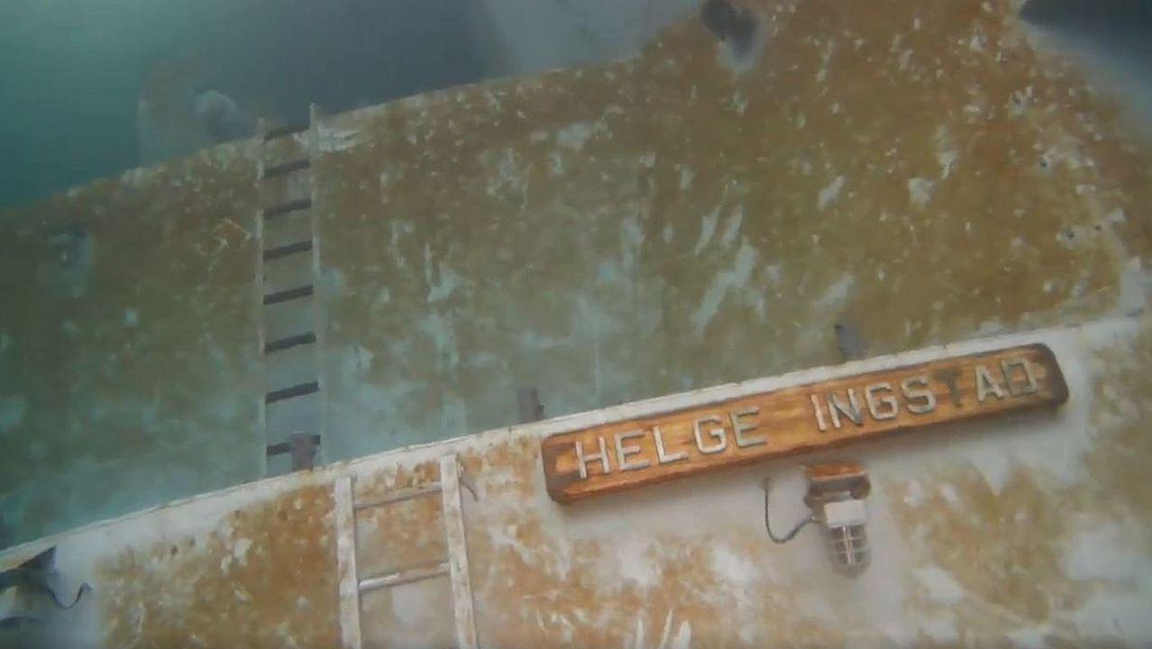 Así se reflota la fragata noruega Helge Ingstad.Controladores de las armadas de España y Francia colaboran a bordo de la Cristóbal Colón para garantizar la seguridad y el correcto uso del espacio aéreo
