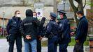 Agentes de policia alemanes